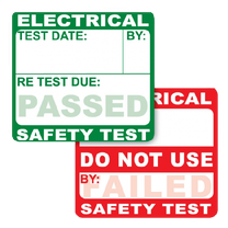 PAT Testing Stickers